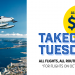 Takeoff Tuesday – $50 fares between Sechelt & Richmond (YVR South)