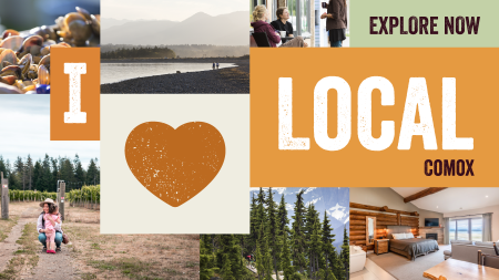 Eat, Play, Shop, Sip & Stay in the Comox Valley