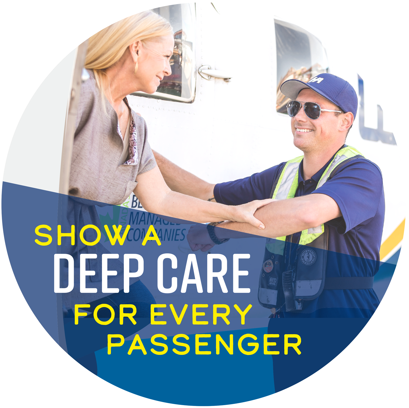 Show a deep care for every passenger
