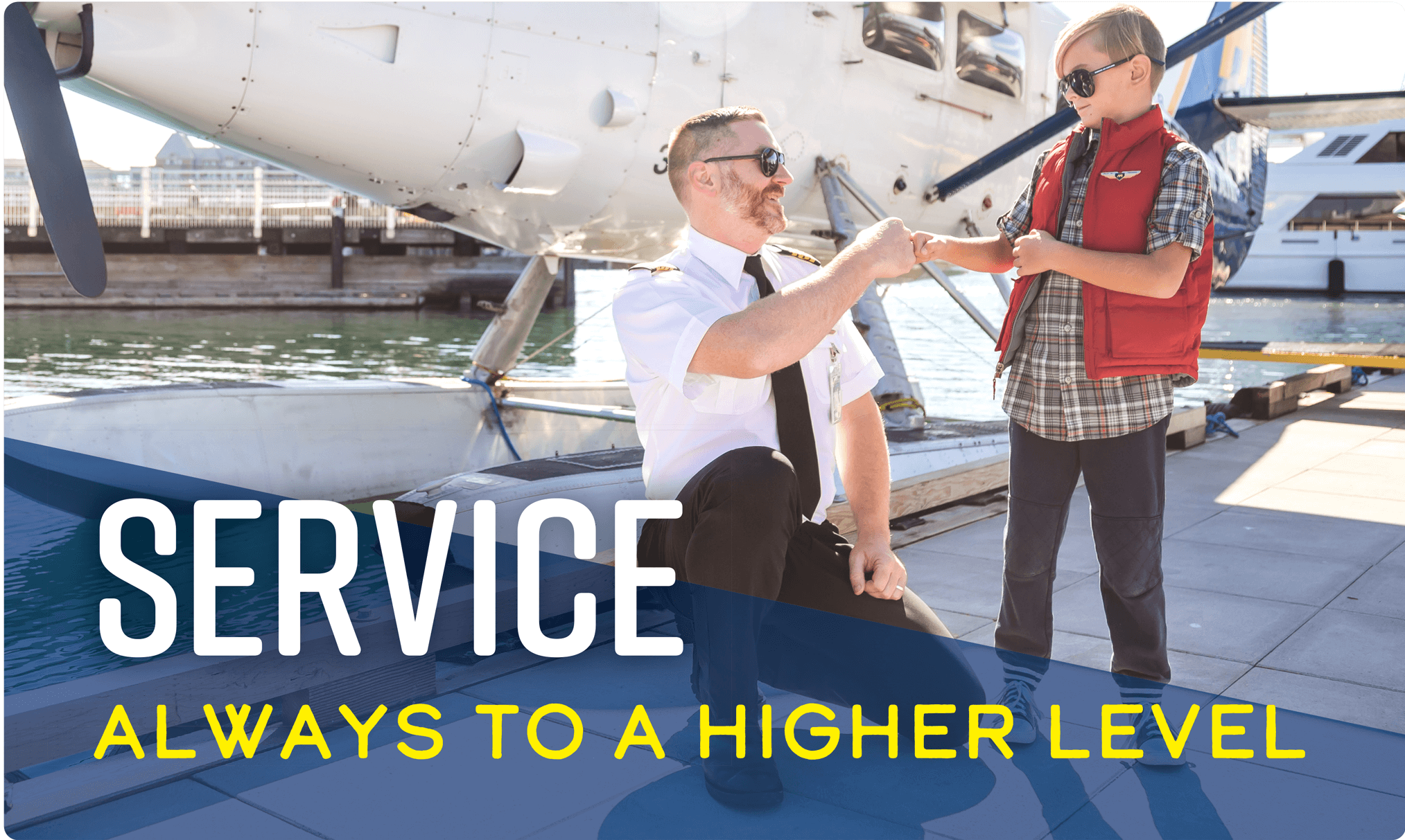 Service: Always to a higher level