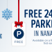 Free 24 Hour Parking in Nanaimo