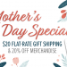 Mother's Day: $20 Flat-Rate Gift Shipping